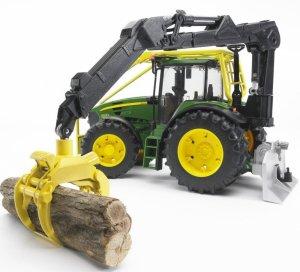 BRUDER JOHN DEERE 7930 TRACTOR FORESTIER